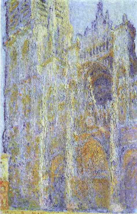 Claude Monet. The Rouen Cathedral at Noon.