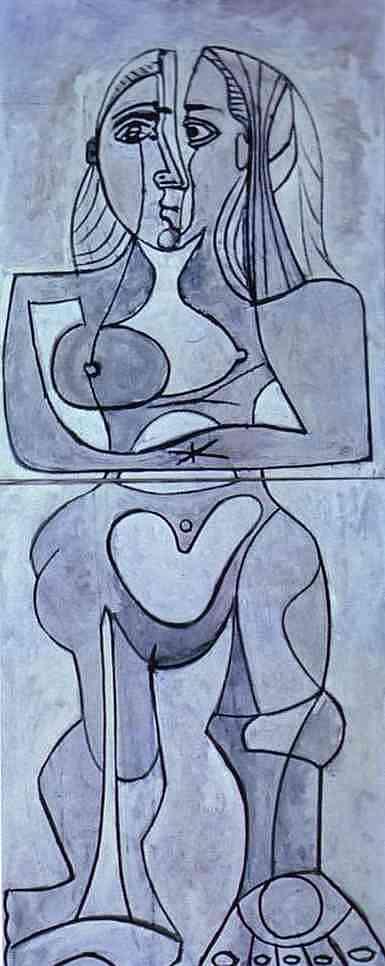 Pablo Picasso. Monolithic Nude.