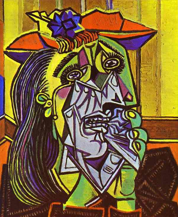 Pablo Picasso. Weeping Woman. - Olga's Gallery