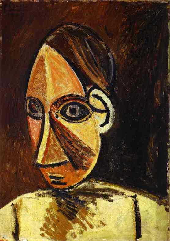 Pablo Picasso. Head of a Woman.