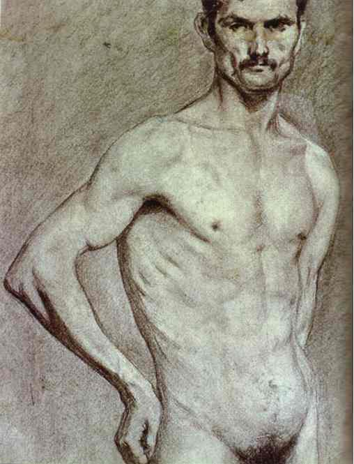 Matador Luis Miguel Dominguin. 1897. Pencil on paper.